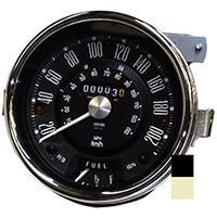 Speedometer, Cooper S, 200kph, Smiths, Black (13H4444)