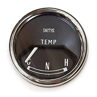 Gauge, Water Temp, Mk2-on, Smiths, Black (13H4460)