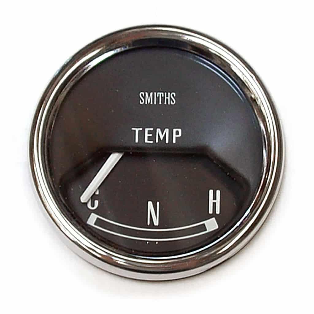 Gauge, Water Temp, Mk2-on, Smiths, Black (13H4460)