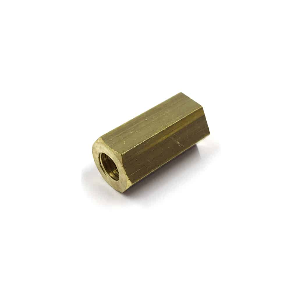 Manifold Nut, Brass, Long (51K1177)