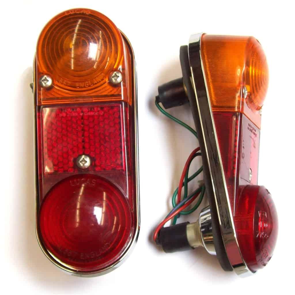 Van / Estate Tail Lamps, Genuine Lucas, Pair (54676)