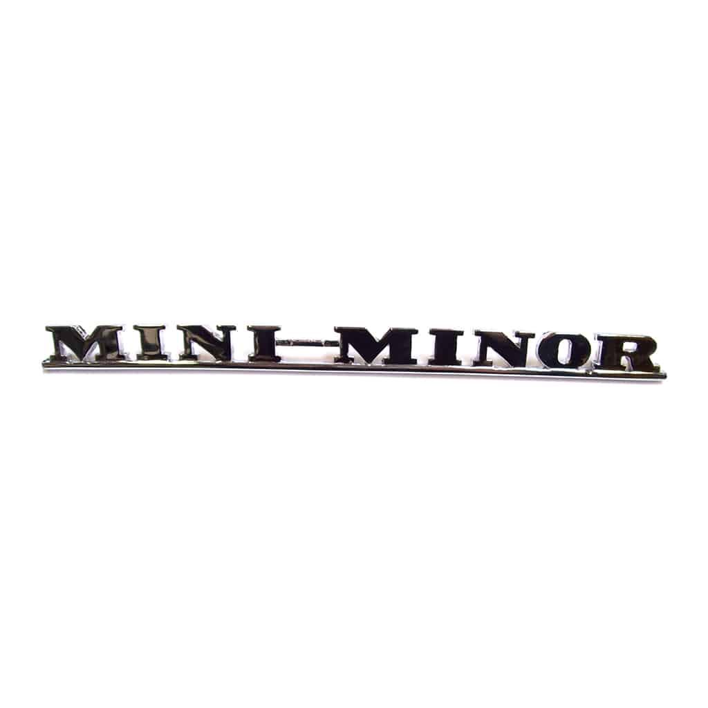 Boot Badge, Mk1, ''Mini-Minor'' (ADA3730)