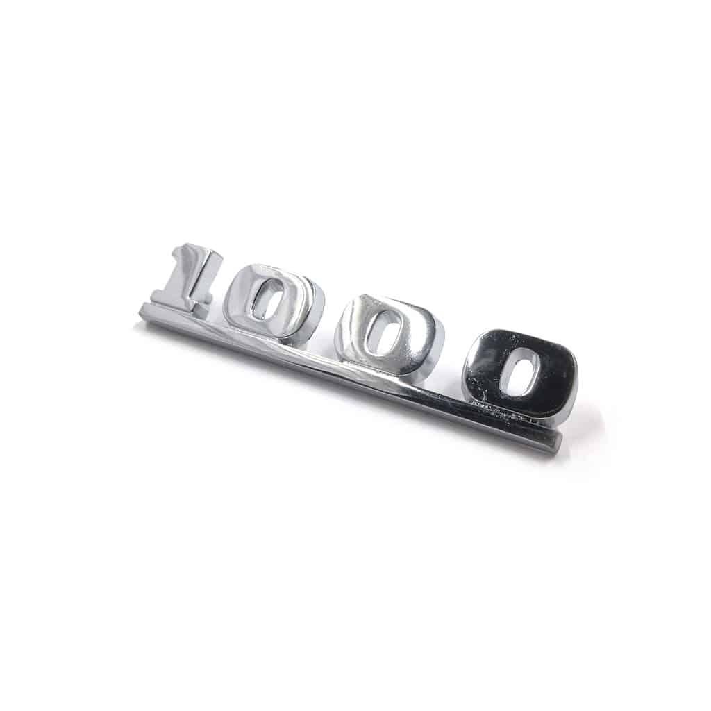 Boot Badge, ''1000'' (ALA6695)