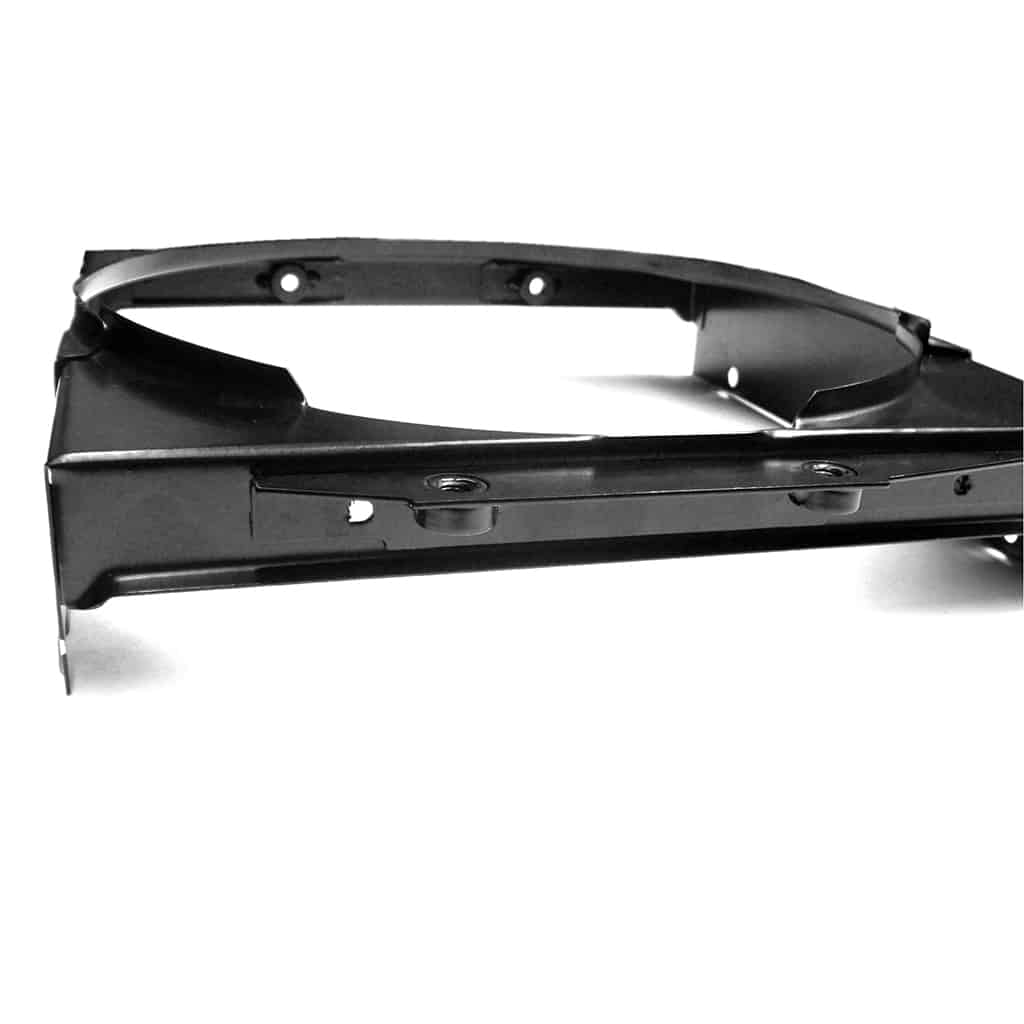 This mounting configuration was used on 850 and 998 non-Cooper