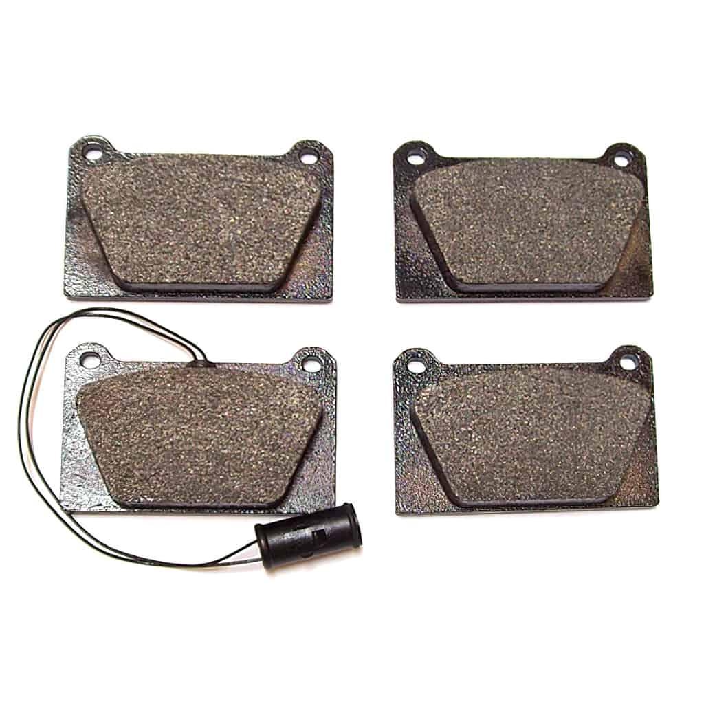 Brake Pads, 4-pot caliper, Mintex M1144, High Performance (C-8G8994)