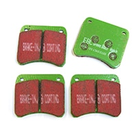 Brake Pads, 998 Cooper, EBC GreenStuff (C-AHT223KEVLAR)