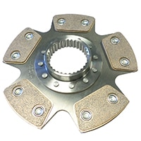 Clutch Disc, Full Race, Sintered Lining (C-AHT597)