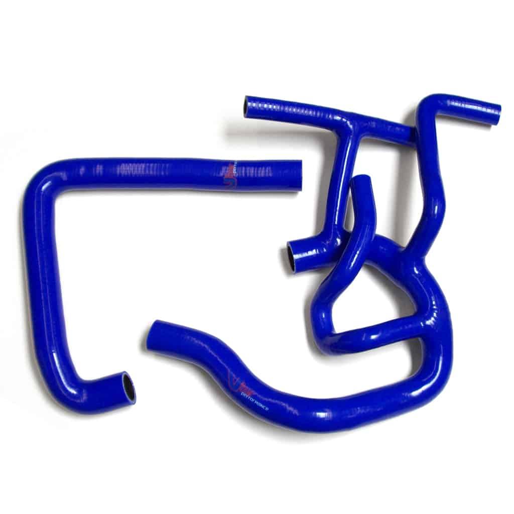 Radiator Hose Kit, MPi, Blue Silicone (C-GRH006)