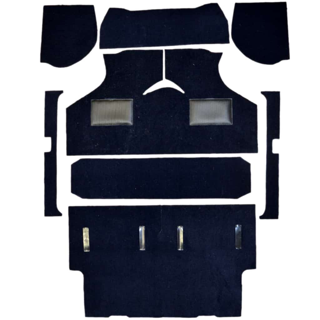 Carpet Kit, Van/Pickup, to 1973, Navy (CK974N)