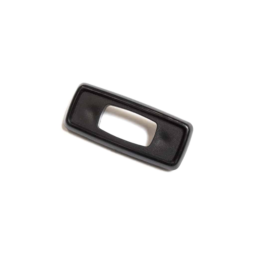 Door Lock Control Bezel, Black Plastic (CZH0611)