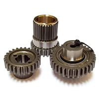 Straight-cut Roller Drop Gear Set, 1.00:1 pre-A+, Swiftune (FOR101)