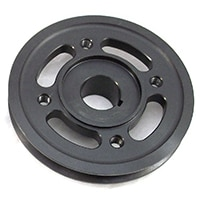 Steel V-Belt Pulley, Cooper S Replacement (FOR132)