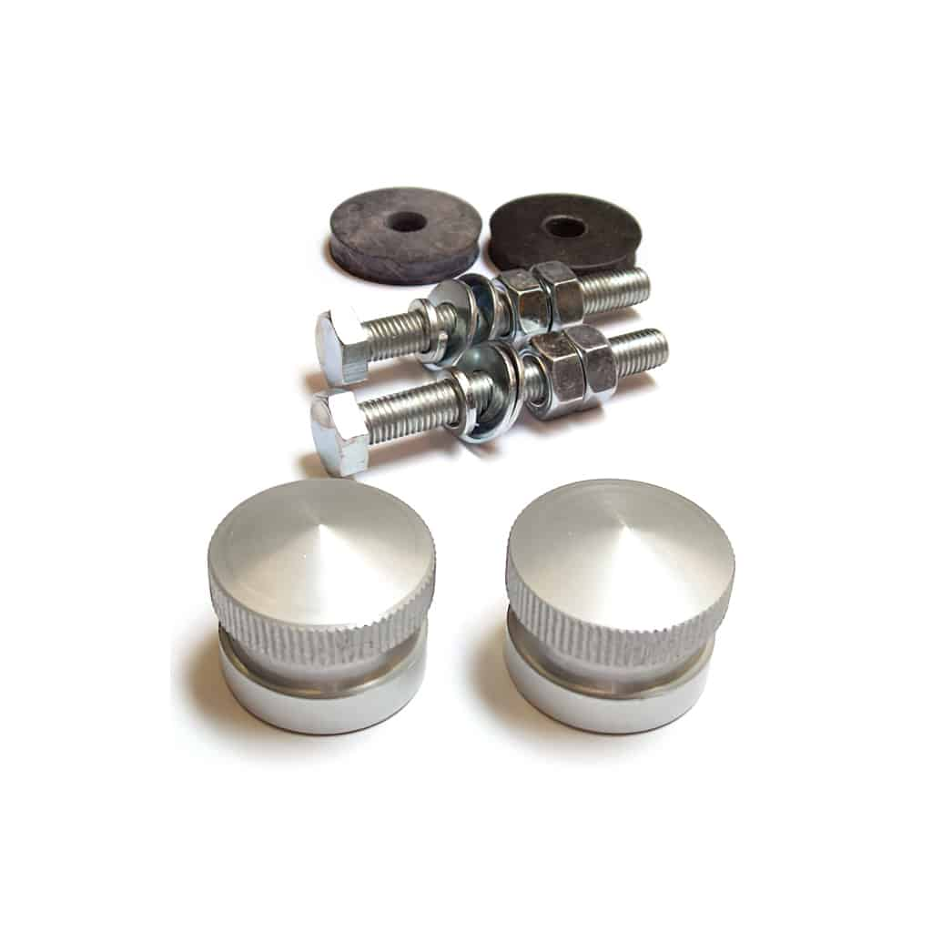 Grille Button Set, Aluminum (MS100)