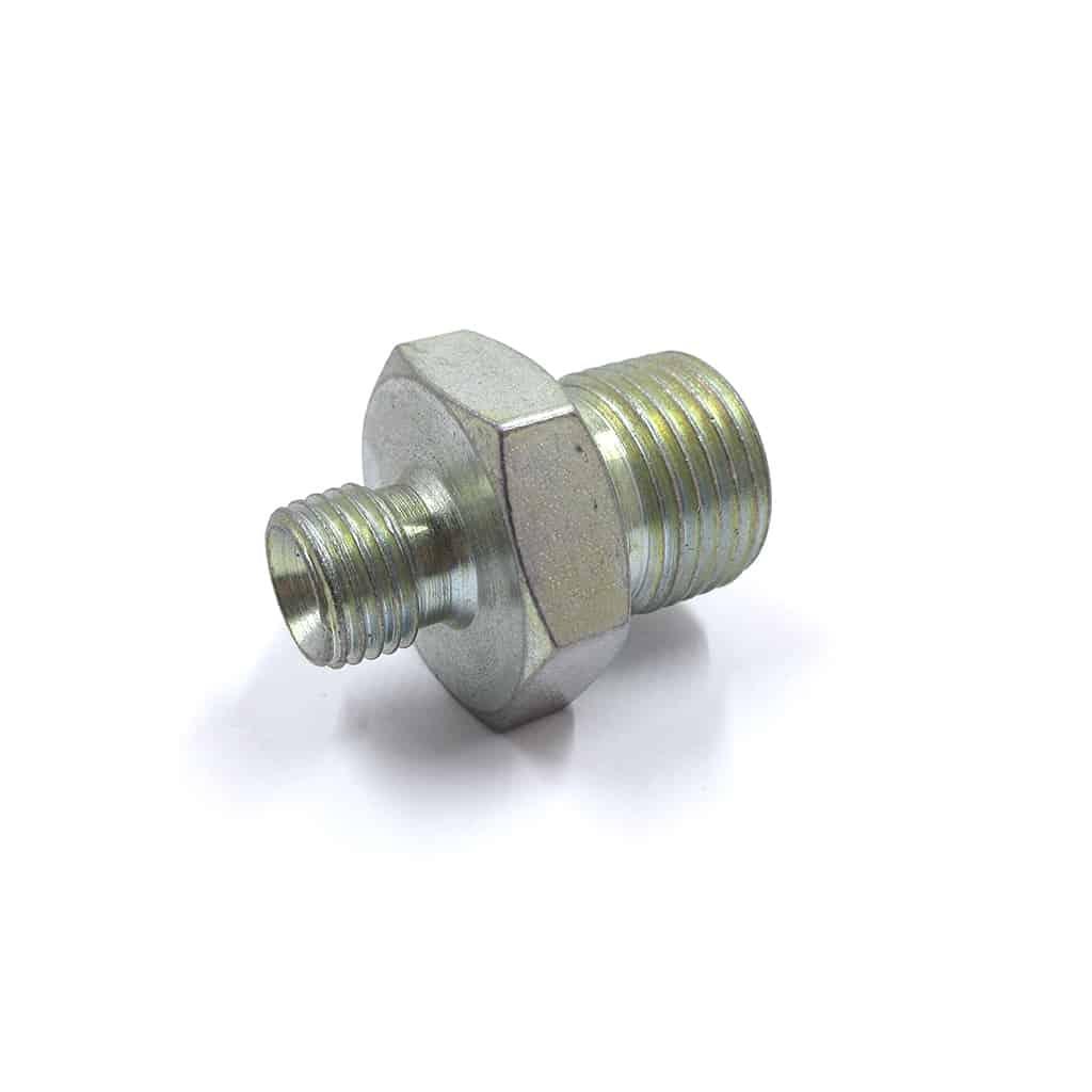 Fitting, oil cooler hose to TAM2097 filter head (SCO0006)