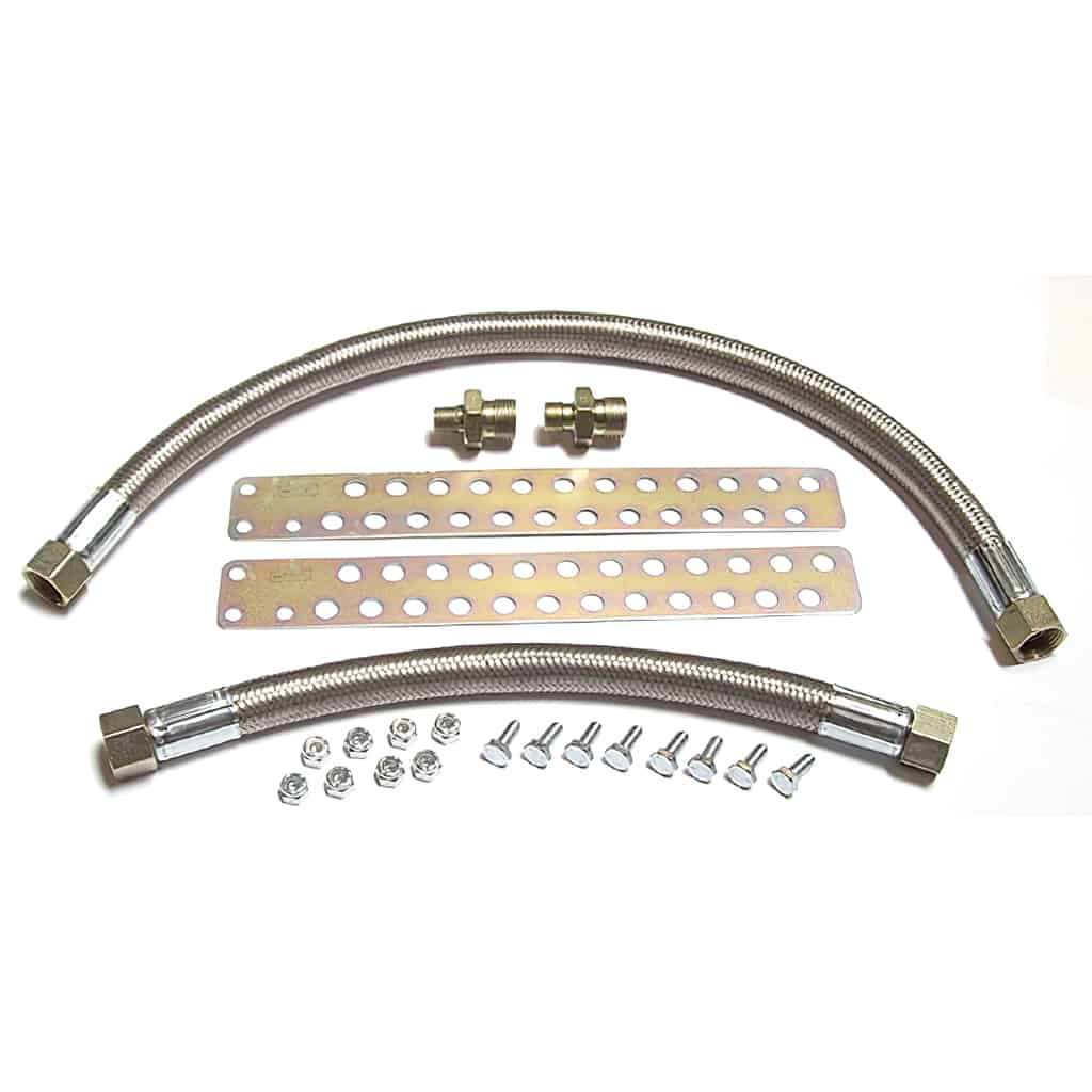 Oil Cooler Hose Kit, extra length (SCO0079)