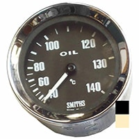 Oil Temperature Gauge, Celsius, Smiths, Black (SIB420)