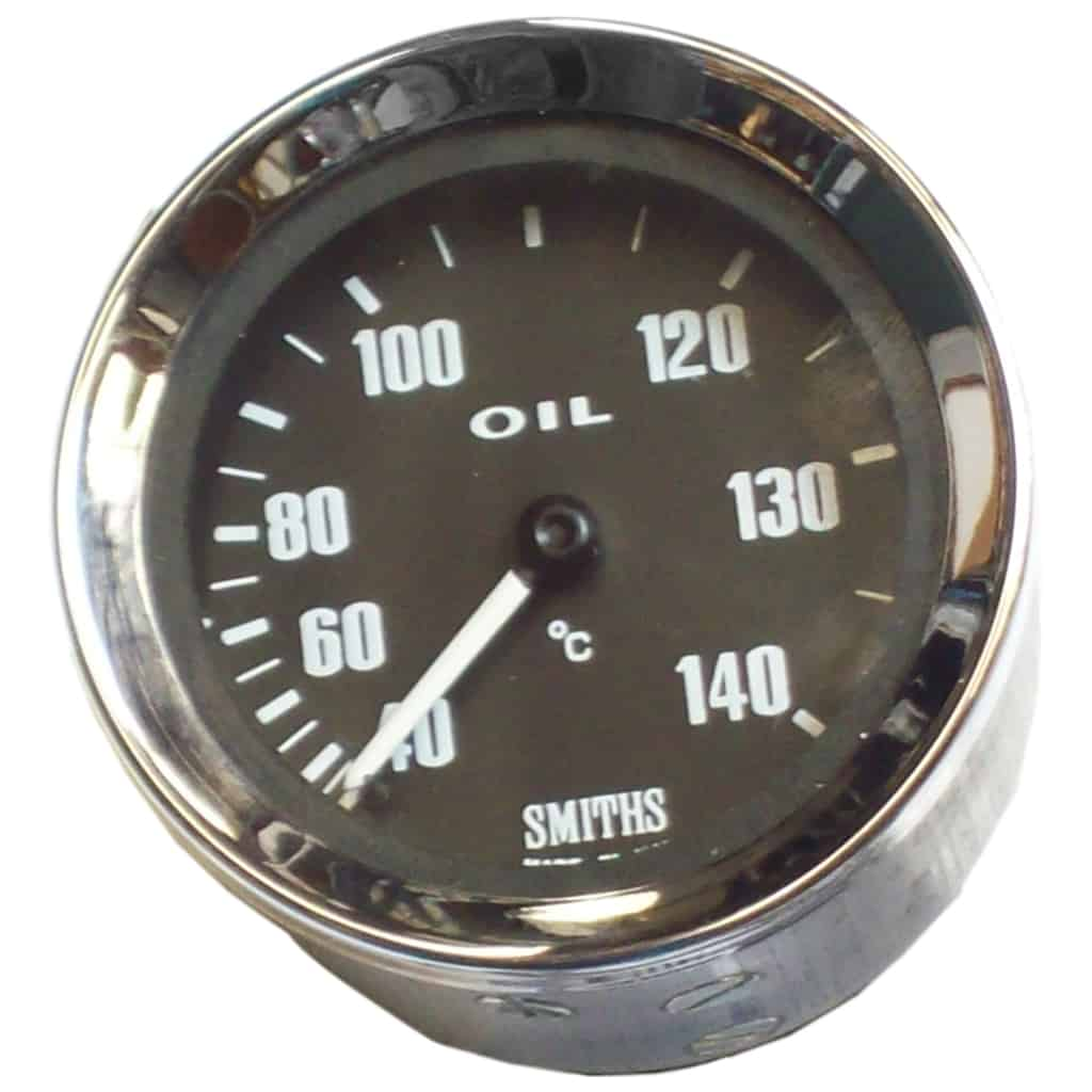 Oil Temperature Gauge, Celsius, Smiths, Black (SIB420)