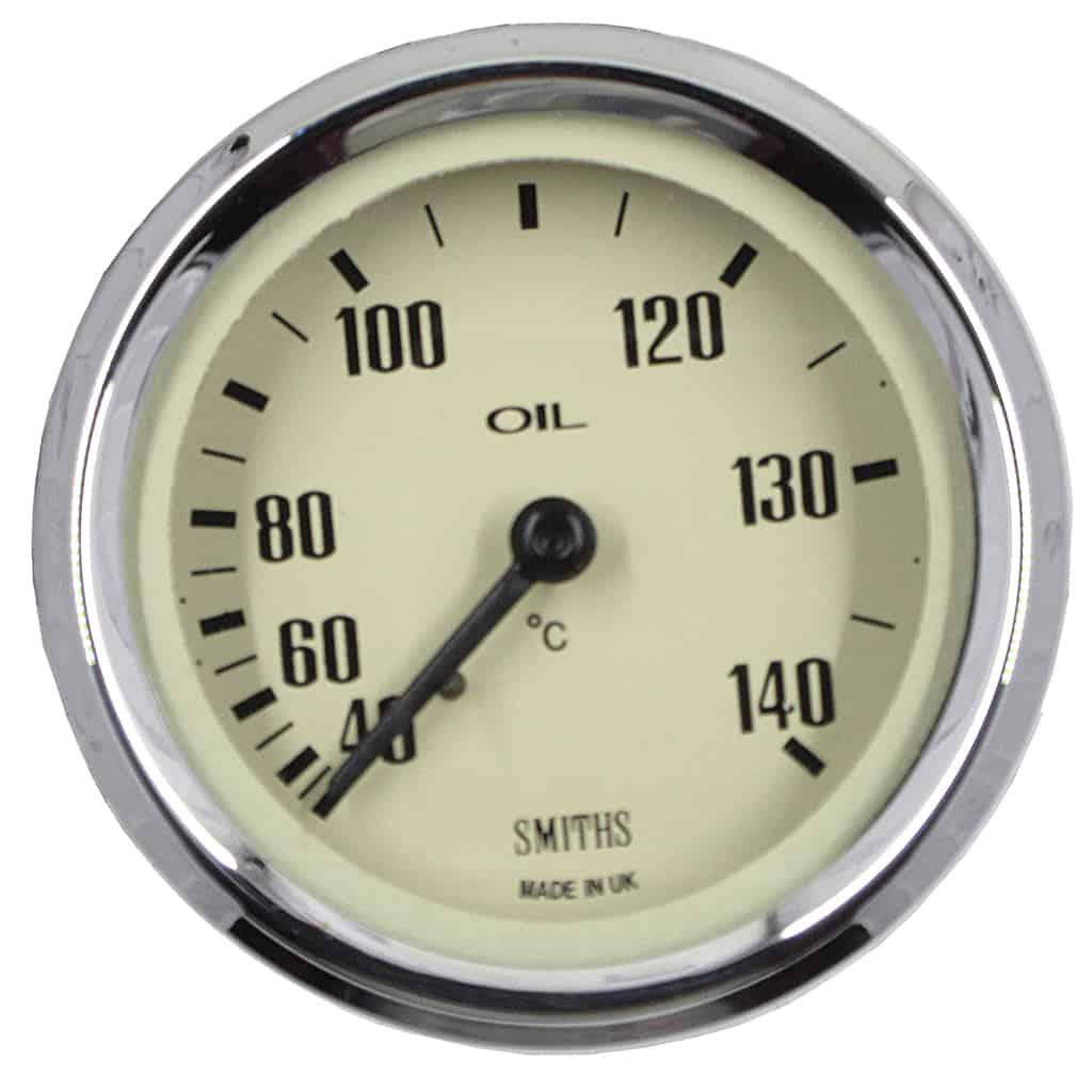 Oil Temperature Gauge, Celsius, Smiths, Magnolia (SIB420MG)