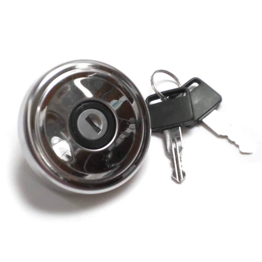 Gas Cap, Locking, Stainless, Non-vented (SIE0319)