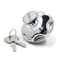 Locking Fuel Cap, Concealed Key, Vented (SIE0320)
