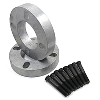 Wheel Spacer Set, 1'', w/ Studs (SSS0022)