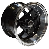 10x6 Mamba Wheel, Black (SWT0013F-7)