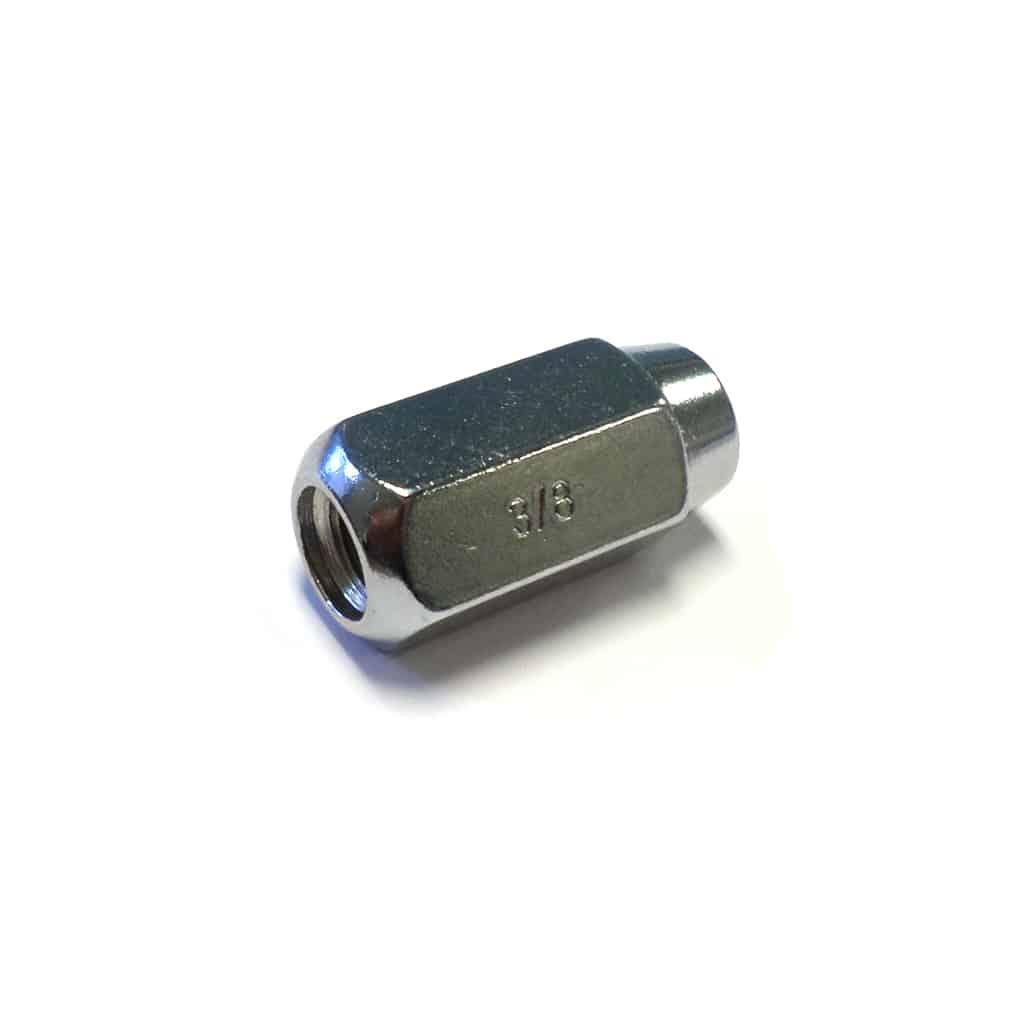 Lug Nut, Standard Radius, Chrome
