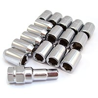 Lug Nut Set, Socket Head, Locking (SWT0120)