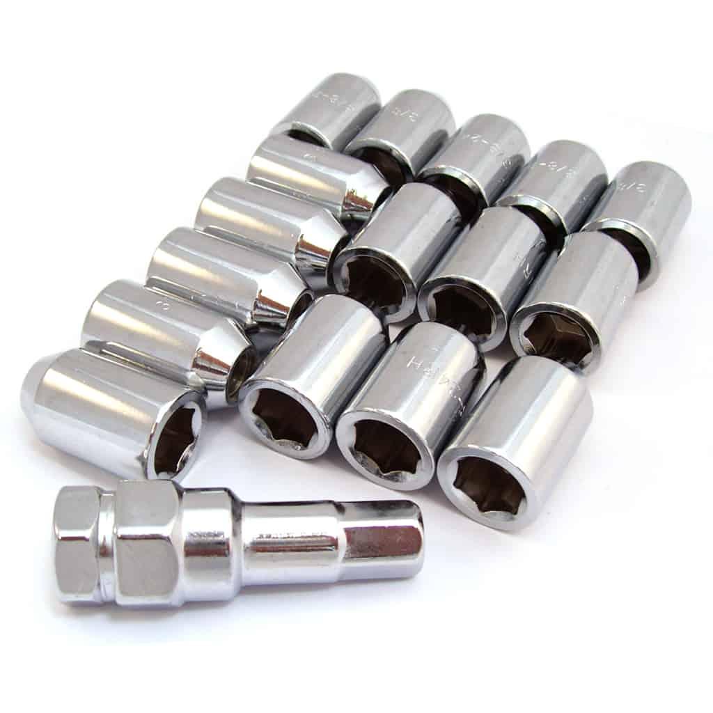 Lug Nut Set, Socket Head, Locking (SWT0120)