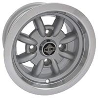 10x6 Minator Wheel, Silver-Polished (SWT0124P)